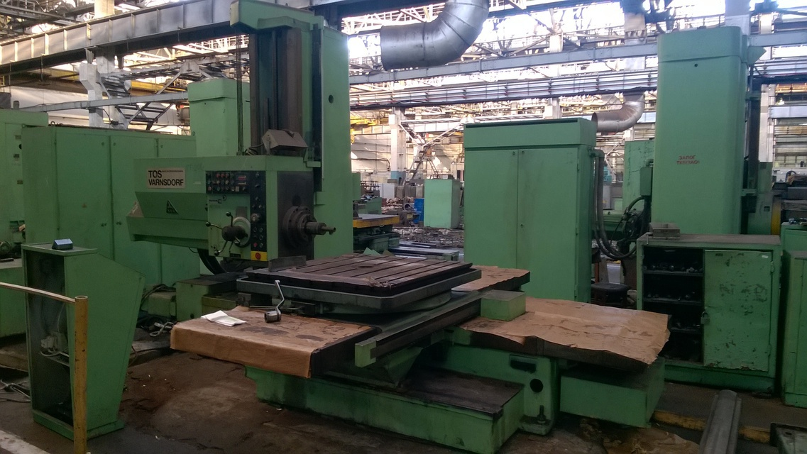 Horizontal boring machine TOS WH10NC