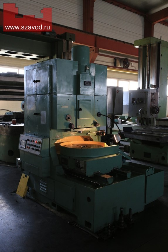 Gear Shaper 5A140P, retrofitted