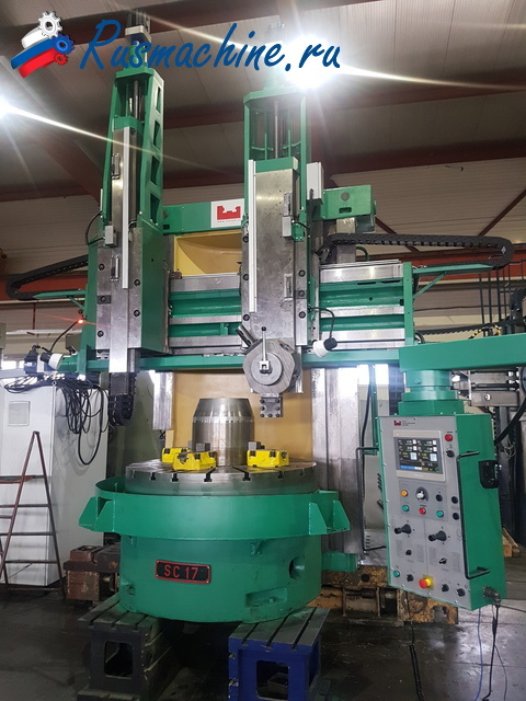 Vertical turning lathe Titan SC17