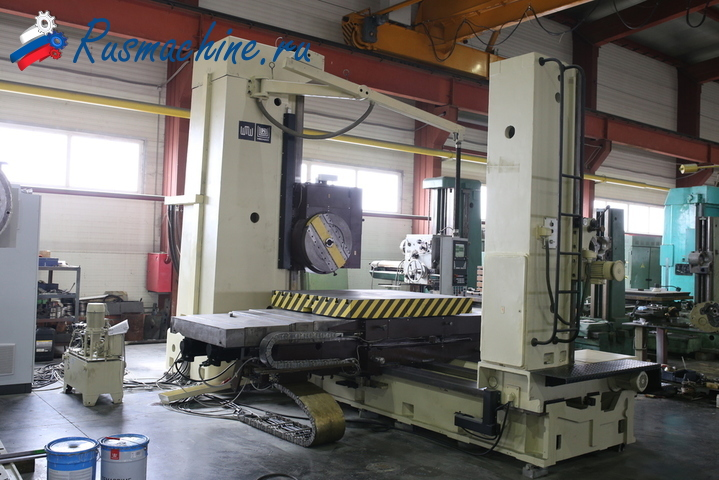 Horizontal boring machine UNION BFT-110/6