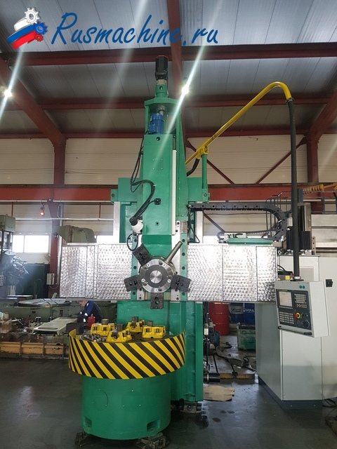 Vertical turning lathe 1512F3 with CNC Fanuc i0