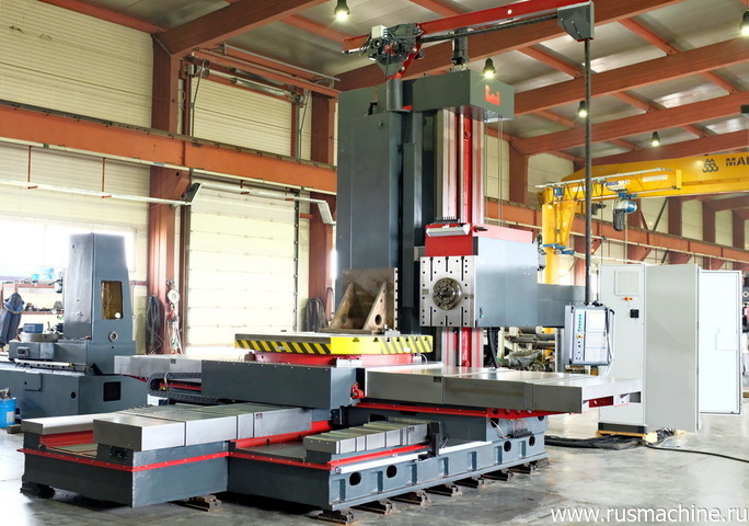 Horizontal Boring Machine model 2A637F3 with CNC FANUC